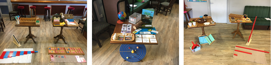 Montessori display
