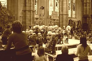 Montessori centenary celebration at Westminster Abbey